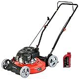 PowerSmart DB2321CR Gas Push Lawn Mower, Red/Black