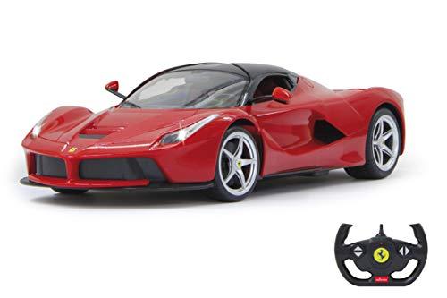Jamara - 404130 - Ferrari Laferrari - 40 MHz - Echelle 1/14 Rouge