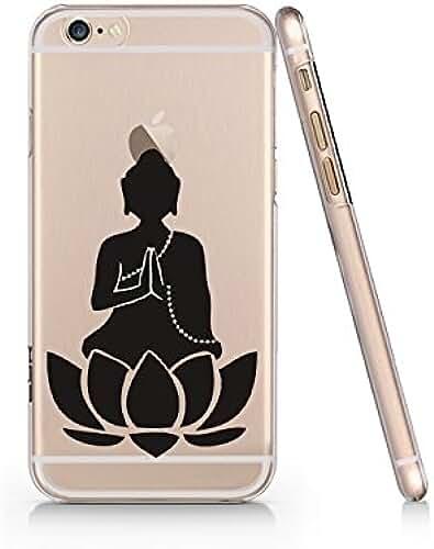 Bouddha clair Plastique Transparent Coque de téléphone téléphone Coque pour iPhone 66S _ Supertrampshop