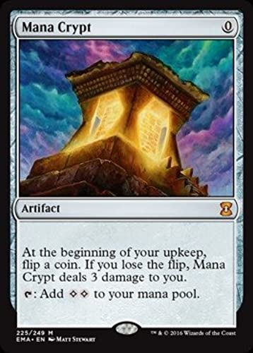 Magic  the Gathering - Mana Crypt (225 249) - Eternal Masters by Magic  the Gathering