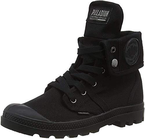 Palladium Damen Us Baggy W F Hohe Sneaker, Schwarz (Black/Black 466), 39 EU