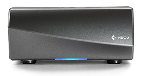 Denon HEOS Multiroom audiostreaming pre-versterker (High-Res audio, Amazon Music, Spotify Connect, NAS, WLAN, USB, app-bediening, Aux-In, Bluetooth) zwart