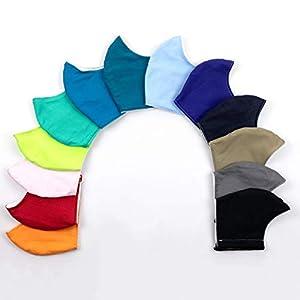 1 Mundbedeckung Maske Behelfsmaske Mund Nase Gesichtsmaske waschbar nachhaltig Baumwolle Farbwahl Größenwahl Damen…