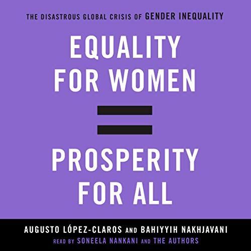Equality for Women = Prosperity for All cover art