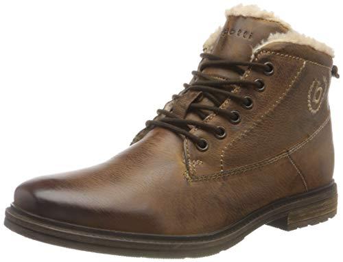 bugatti Herren 321622583200-6300 Mode-Stiefel, Cognac, 43 EU
