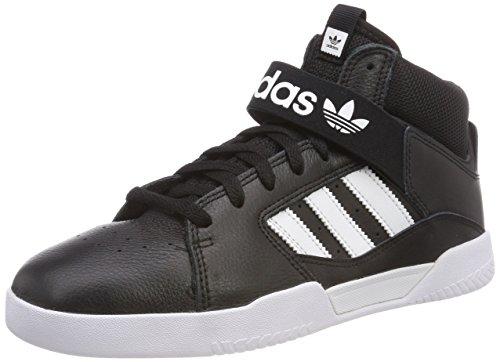 Adidas Herren VRX Cup MID Skateboardschuhe, Schwarz (Core Black / Ftwr White), 41 1/3 EU