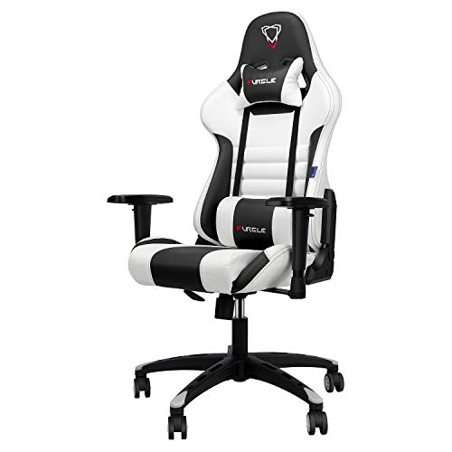 Furgle Office Gaming Chair Silla de Carreras con Respaldo Alto y reposabrazos...