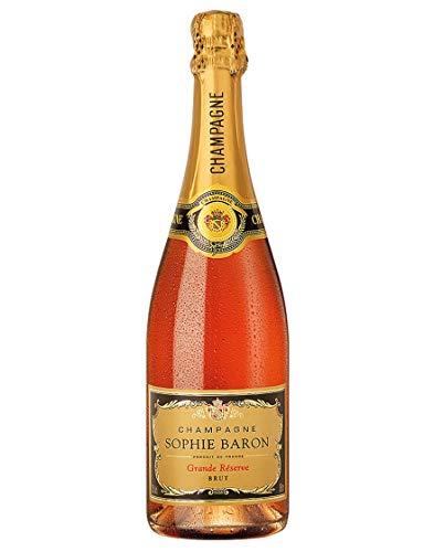 Champagne Brut Rosé AOC Grande Réserve Sophie Baron 0,75 L