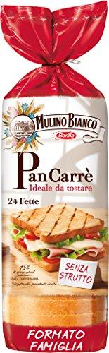 Mulino Bianco Pan Carrè, 24 Fette, 430g