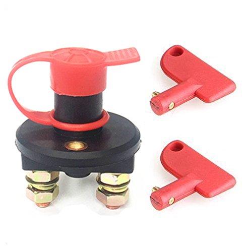 Qiorange batterie de voiture sectionneur sectionneur couper interrupteur kill off 12V 24V 500A (Type A 1Pcs)