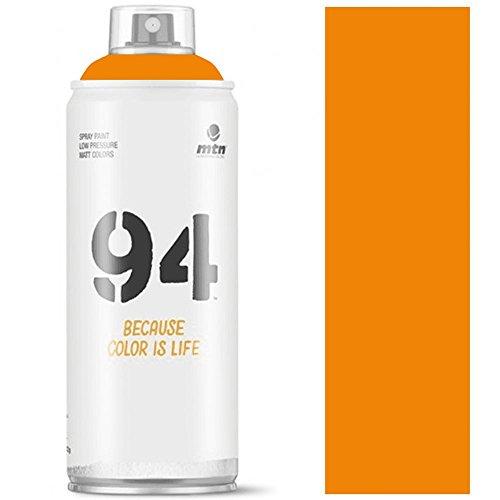 Pintura en spray MTN 94 400 ml. Naranja Lava RV-106 400ml