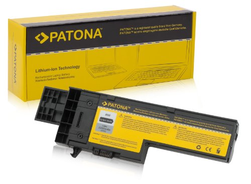 PATONA *2200mAh 4-Zellen Akku IBM ThinkPad X60 X61 1707 1708 1709 2509