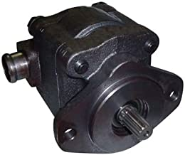 Complete Tractor Hydraulic Pump Compatible with Replacement Ford New Holland 555C, 555D, 655C, 655D 675D Industrial/Contruction Loaders - 85700189, D8NN600AA, E7NN600CA