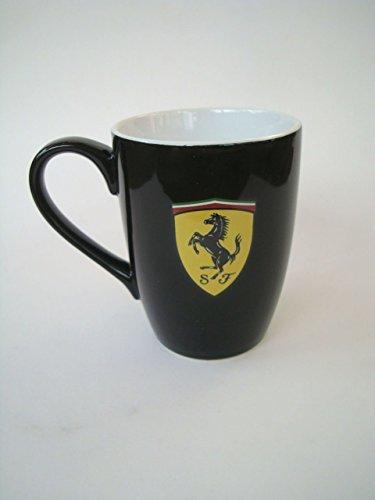 FERRARI F1Ferrari Scudetto Mug Negro Ferrari Scudetto Mug Negro, Negro, Uni, 51575–100