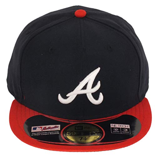 New Era Atlanta Braves Authentic Performance Cap Game - 7 - 56cm