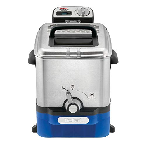 Tefal FR8040 Oleoclean Fritteuse Pro Inox und Design mit Filtersystem, 2300 W - 2