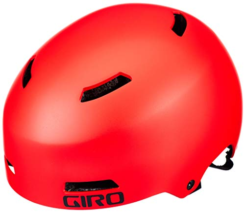Giro Unisex Jugend Dime FS Fahrradhelm Youth, Matte Bright red, XS | 47-51cm