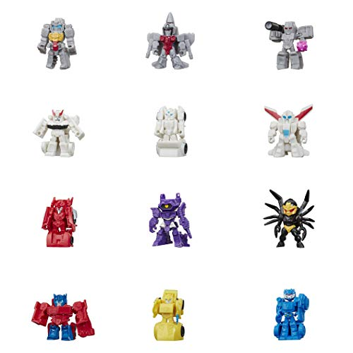 Transformers Toys Cyberverse Tiny Turbo Changers Blind Bag Action Figures - For Kids Ages 5 & Up, 1.5', Brown