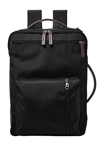 Fossil Buckner- Backpack in Black Polyester for Men MBG9519001