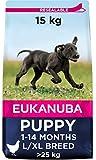 Eukanuba Alimento seco para cachorros de razas grandes con pollo 15 kg