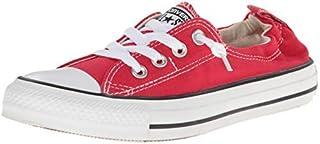 حذاء تشاك تايلور أوول ستار شورلاين نسائي منخفض الرقبة من كونفرس (أحمر فارسي)، رقم_9)