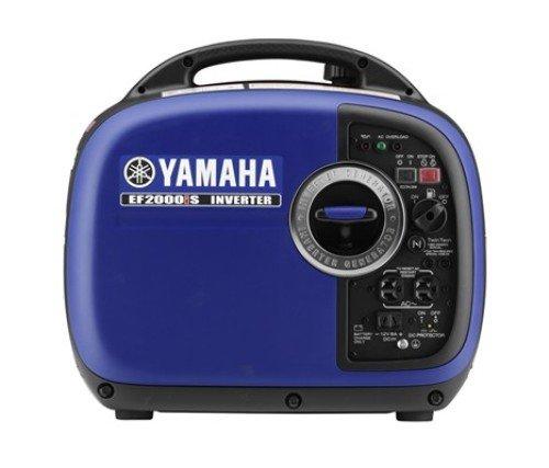 Yamaha EF2000iSv2, 1600 Running Watts/2000 Starting Watts, Gas Powered Portable Inverter, CARB Compliant