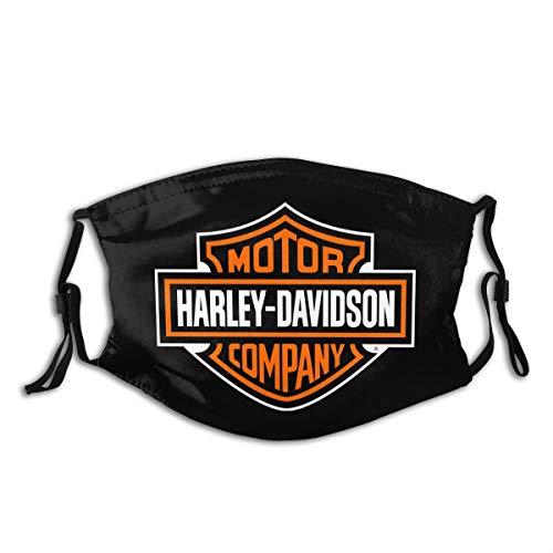 Anti Dust MA Face Mouth MA,Fashion Reusable Washable Outdoor Unisex Harley Davidson MA