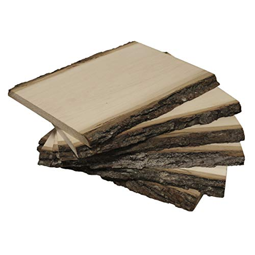 Walnut Hollow Value Pack Medium Basswood Country Plank for Wood Burning, Home Décor and Rustic Weddings,...