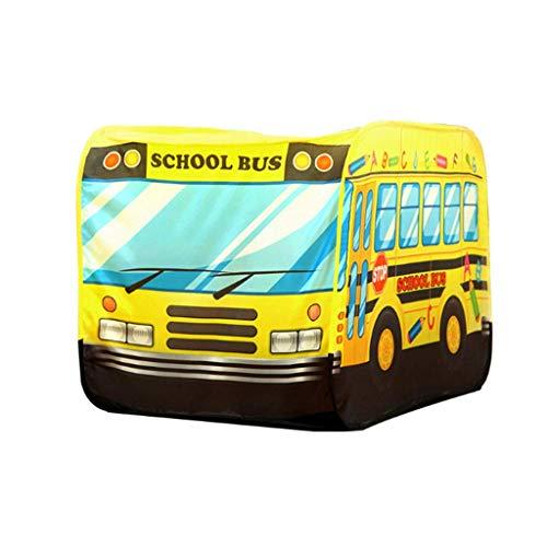 Viñedo Carpa de niños Bus Castle Play House Baby Casa de Juguete de Interior Casa Grande Lectura 110 * 70 * 70cm
