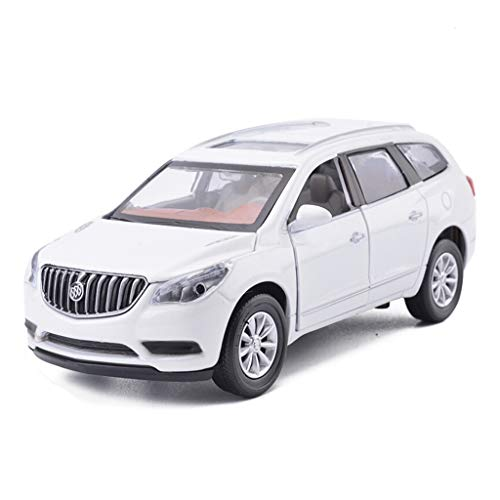 Juhgs Dongyd Encore model legering automodell, 1/32 simulatie auto geluid en licht trekken kinderspeelgoed auto