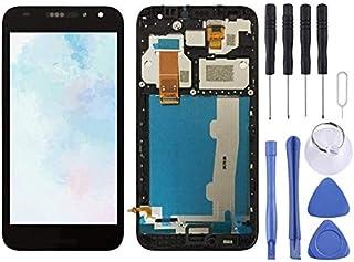 Reparera för din telefon LCD-skärm och digitizer Fullständig montering med ram för Alcatel A3 5046 / 5046D / 5046X / OT504...
