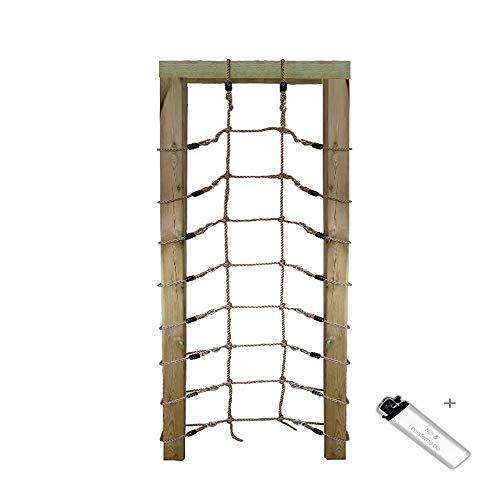 1 Stück h2i Kinder Kletter Netz 200 x 75 cm für Rahmen (Rahmen nicht im Lieferumfang!)