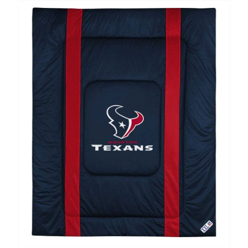 NFL Houston Texas Twin Sideline Comforter