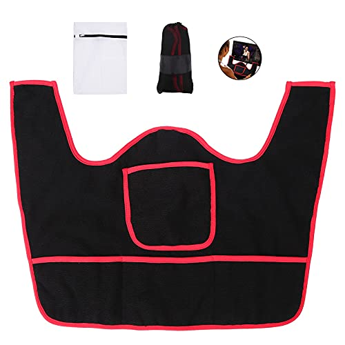 LIACELEE Anti-Slippery Soft Handlebar Sweat Towel and spintowel Sports Fitness Bike dust Cover Accessories for Peloton Spin Bike.