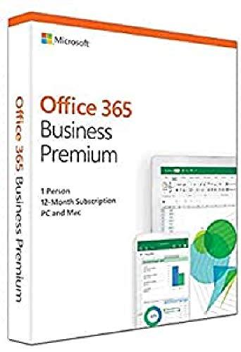 Microsoft KLQ-00388 Office 365, Business Premium E, 2018