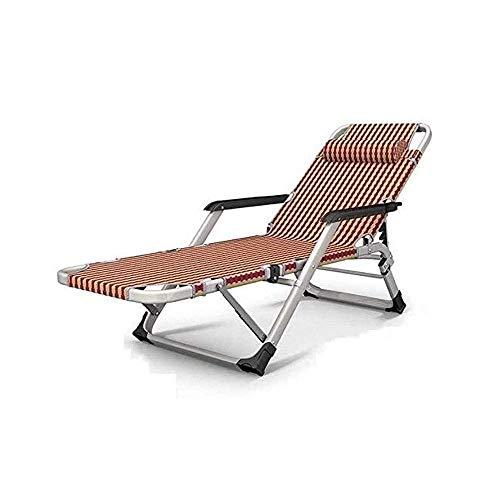 BSJZ Schwerelosigkeitsstuhl, verstellbare Patio-Lounge-Liegen Klappbarer Zero-Gravity-Patio-Lounge-Stuhl Sun Pool Lawn Chaise mit Kissen und Getränkehalter-Tabletts