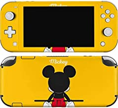 Skinit Decal Gaming Skin for Nintendo Switch Lite - Officially Licensed Disney Mickey Mouse Backwards Design