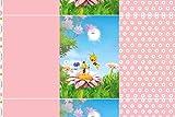 Hemmers Lizenz Jersey Panel Biene Maja rosa - Stoff -