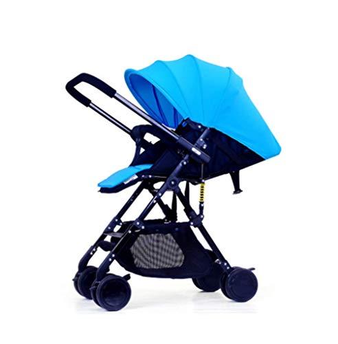 Baby kinderwagen, ultra licht draagbare vouwwagen, kan zitten liggend baby paraplu auto, twee-weg kinderwagen, verstelbare luifel te blokkeren UV-straling, B