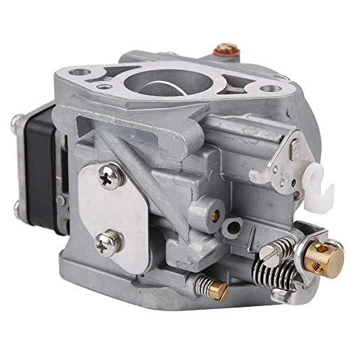 Bnineteenteam Carburador de Motor, carburador de atomización eficaz Pieza de Repuesto Mejorada, Accesorio para Motor fueraborda de 2 Tiempos y 5 CV