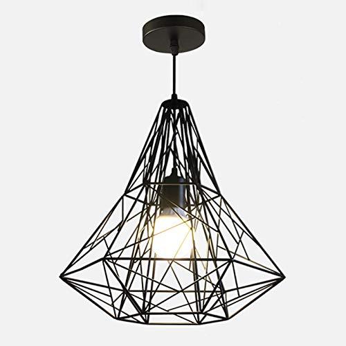 DSFHKUYB Lámpara Colgante Luz Pendiente De Hierro Estilo Industrial Retro Se Puede Instalar En Dormitorio Sala De Estar Comedor,A
