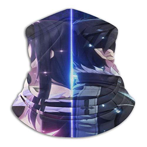 185 Neck Balaclava,Diademas Mágicas De Sword Art Online, Pasamontañas Multiusos del Cuello para Correr Al Aire Libre,26x30cm