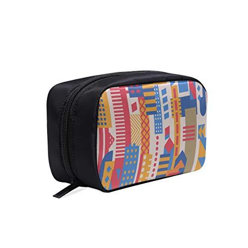 Bolsa de viaje para mujer Edificio de gran altura Arte Hombre Bolsa de moda Bolsas de cosméticos divertidas para mujeres Bolsas de cosméticos baratas Bolsas de cosméticos Estuche multifuncional Organ