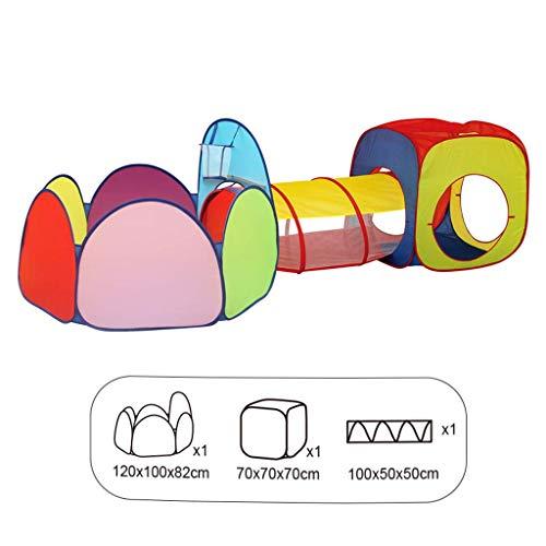 NMDD Spielzeug Haus Puzzle Game Center Baby Laufstall/Babyspiel Zaun Innenaufnahme Kinder Bällebad Zelt Tunnel Crawl