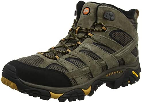 Merrell Men s Moab 2 Vent Mid Hiking Boot Walnut 11 5 M US product image