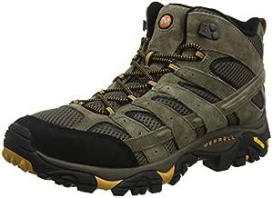 Merrell Men's Moab 2 Vent Mid Hiking Boot, Walnut, 11.5 M US