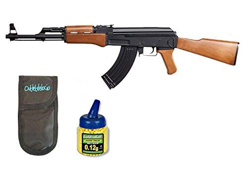 Pack Rifles SLR105 AEG Electrico. Calibre 6mm. + Funda Portabalines +