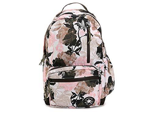 Converse GO Rugzak Bloemen Roze, Multi (Wit Beige Zwart) Reizen, Laptop Sleeve UNI, School Camping