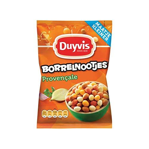 Patatas fritas | Duyvis | Cacahuetes Provenzales De Borrelnootjes | Peso total 125 gramos