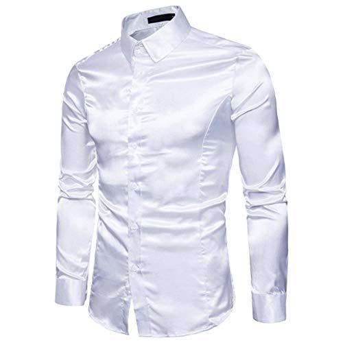 Camisas De Manga Larga para Hombres Camisa De Hombres Fiesta para Único...